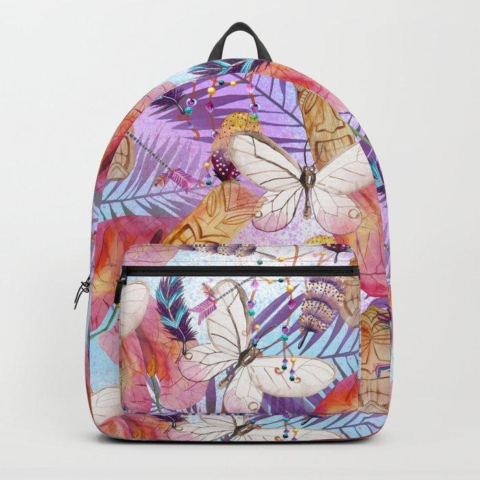 Boho Tiki Life Backpack