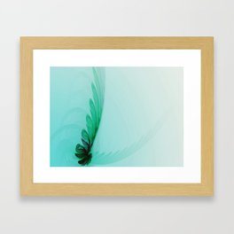 With Brave Wings She Flies Framed Art Print