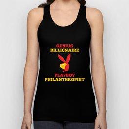 Genius Billionaire Playboy Philanthropist Unisex Tank Top