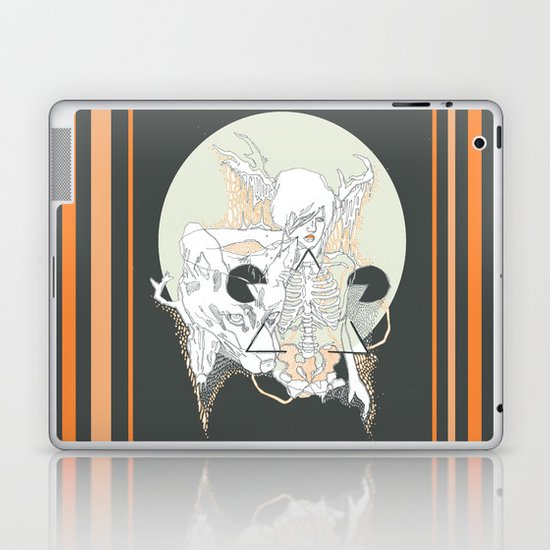 moon stone Laptop & iPad Skin