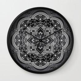 Composure Mandala Wall Clock