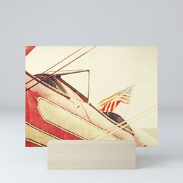 Salute // Antique Airplane Mini Art Print