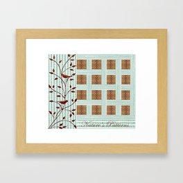 Nature's Patterns Series: Combination  Framed Art Print