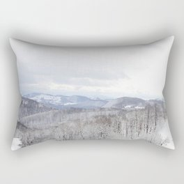 Winter in Transylvania Rectangular Pillow
