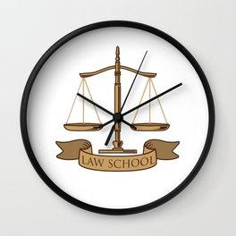 Law School Survivor Gift Wall Clock