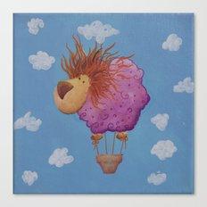 The hot hair balion Canvas Print