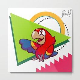 Parrot Pal Metal Print
