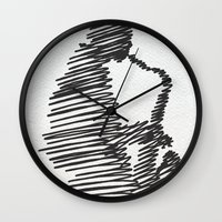 jazz Wall Clocks featuring jazz  by Zuhal Arslan