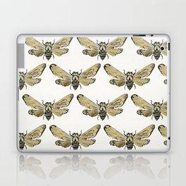 Summer Cicada – Black & Gold Palette Laptop & iPad Skin
