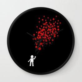 99 Red Lumaballoons Wall Clock