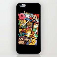 Dairanto Smash Bros iPhone & iPod Skin