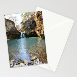 Alone in Secret Hollow with the Caves, Cascades, and Critters, No. 2 of 21 Stationery Cards