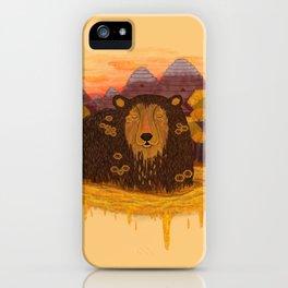 Honey Hibernation iPhone Case