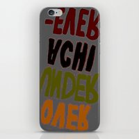 u2 iPhone & iPod Skins featuring o-u2 by gasponce
