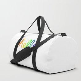 Oh Hello! Coloful Version Duffle Bag