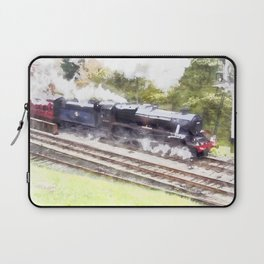 Scarborough Spa Express in Water colour Laptop Sleeve