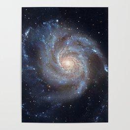 Pinwheel Galaxy Messier 101, M101 in the constellation Ursa Major Poster