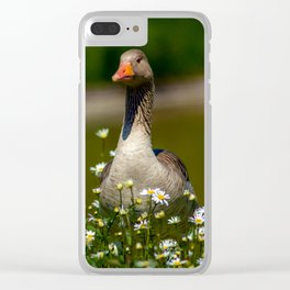Watching out for my love Clear iPhone Case