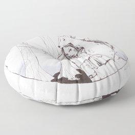 Huntress Floor Pillow