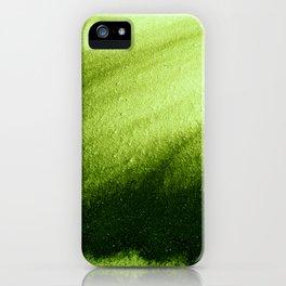 Indefinite Green iPhone Case