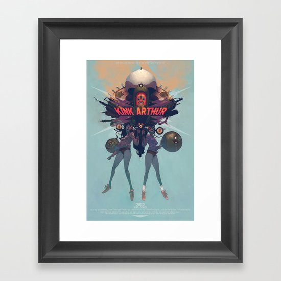 Oh, yeah... Framed Art Print