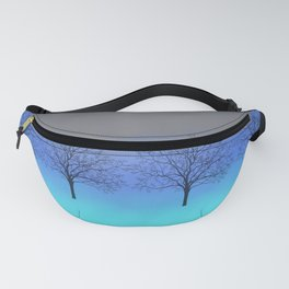 Abstract trees Fanny Pack