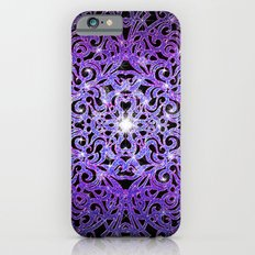Floral abstract background G103 Slim Case iPhone 6s