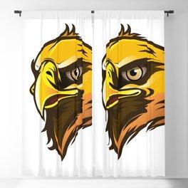eagle head Blackout Curtain