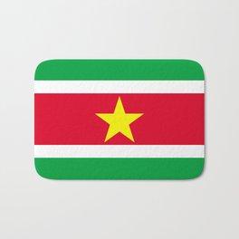 Flag of Suriname Bath Mat