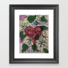 Heartfelt Thanks - Free Shipping through August 11!! Framed Art Print