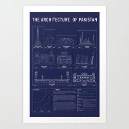 The Architecture of Pakistan Art Print