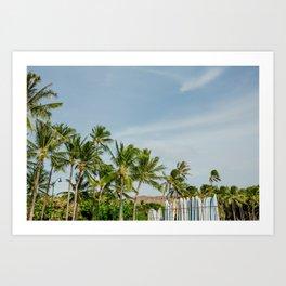 Waikiki Beach III Art Print