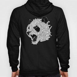 Geometric Panda Hoody