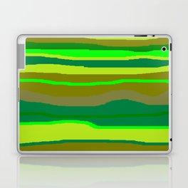 Green Multi Brush Strokes Laptop & iPad Skin