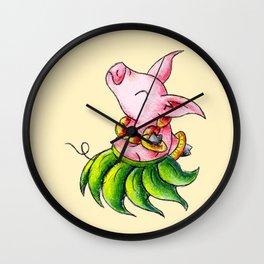 Dinner Dancer Wall Clock