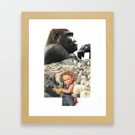 You Don't Know The Half Of It Framed Art Print