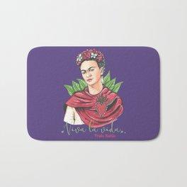 Frida Viva la vida Bath Mat