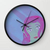 elf Wall Clocks featuring Elf by Gleje