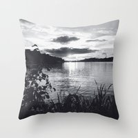 stockholm Throw Pillows featuring Stockholm 02 by Viviana Gonzalez