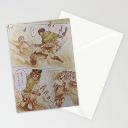 Levi and the Beast Titan Stationery Cards