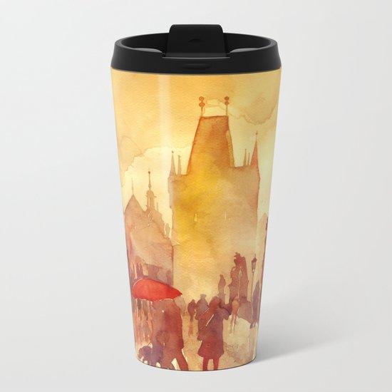 Charles Bridge Metal Travel Mug