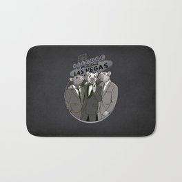 Rat Pack Bath Mat