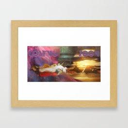 Antes del Castigo... Framed Art Print
