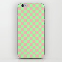 Checkered Pattern I iPhone Skin