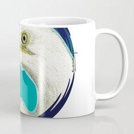 Garza grande ilustrada Coffee Mug
