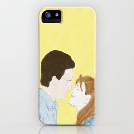 Cory & Topanga (Boy Meets World) - Watercolor iPhone Case