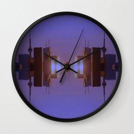 Skyline Symmetry in Toronto, Ontario  Wall Clock