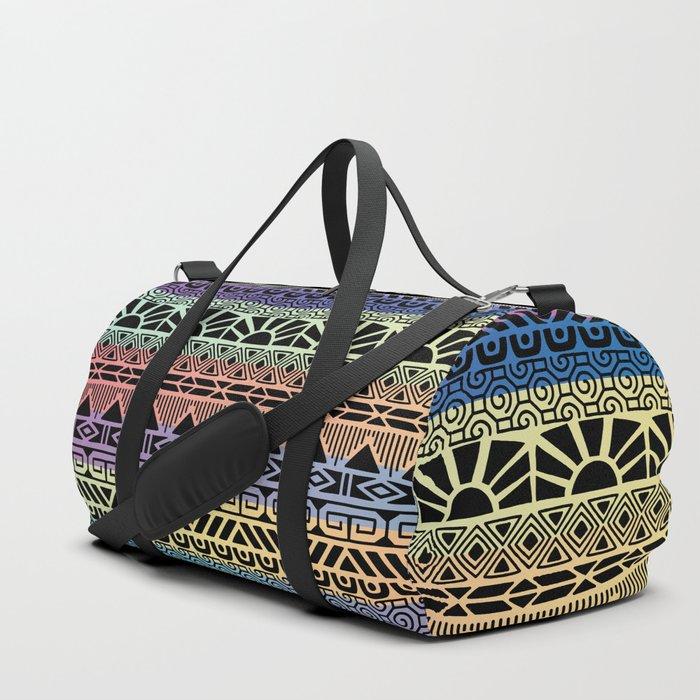 Aztec Cobalt Duffle Bag