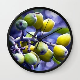SICILIAN FRUITS Wall Clock