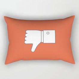 Thumbs down - Influencer Rectangular Pillow